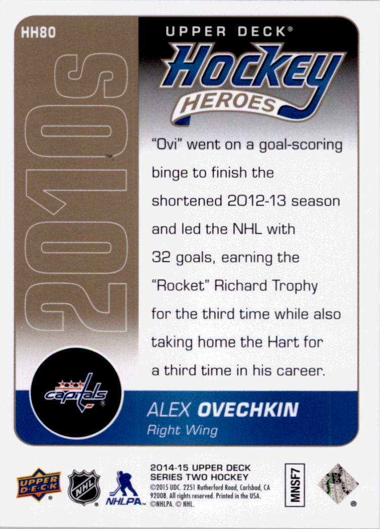 2014-15-Upper-Deck-Hockey-Canvas-Inserts-You-Pick-Buy-10-cards-FREE-SHIP thumbnail 149