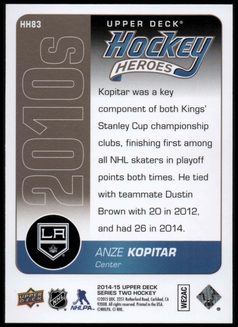 2014-15-Upper-Deck-Hockey-Canvas-Inserts-You-Pick-Buy-10-cards-FREE-SHIP thumbnail 155