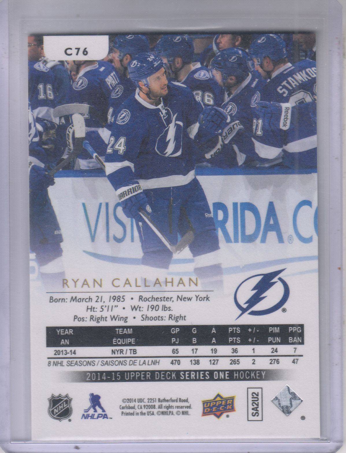 2014-15-Upper-Deck-Hockey-Canvas-Inserts-You-Pick-Buy-10-cards-FREE-SHIP thumbnail 69