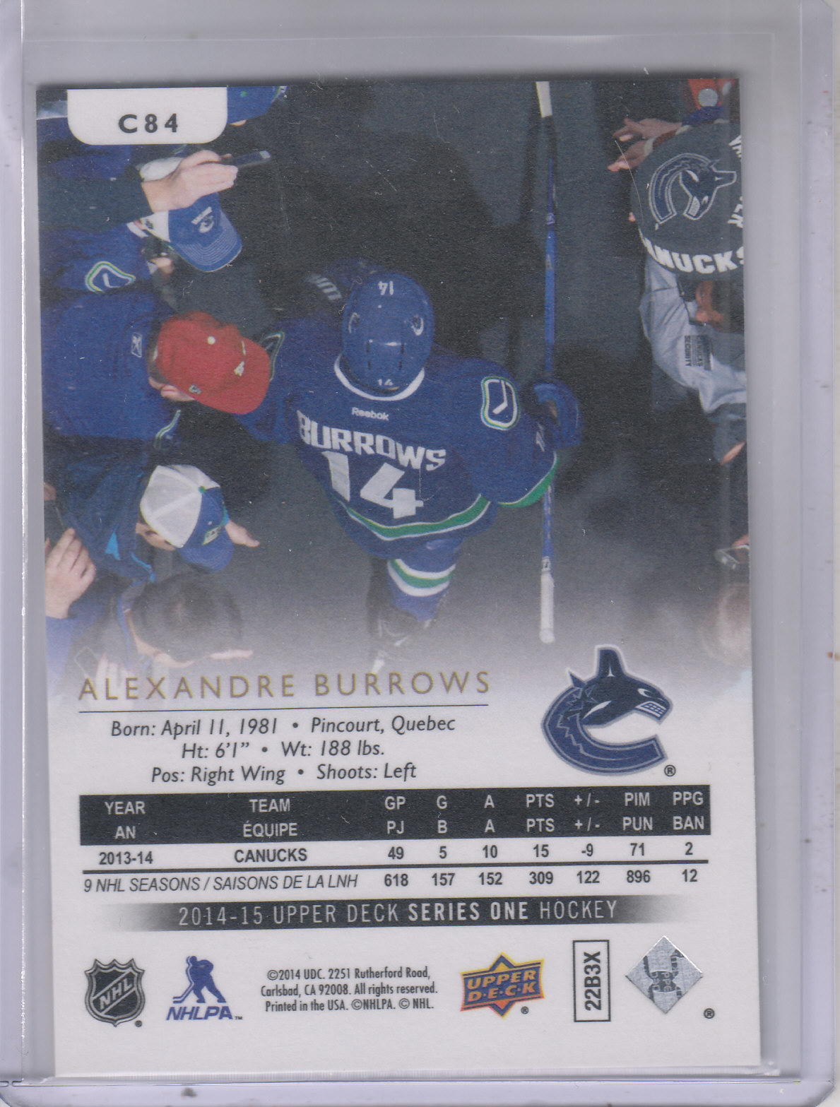 2014-15-Upper-Deck-Hockey-Canvas-Inserts-You-Pick-Buy-10-cards-FREE-SHIP thumbnail 75