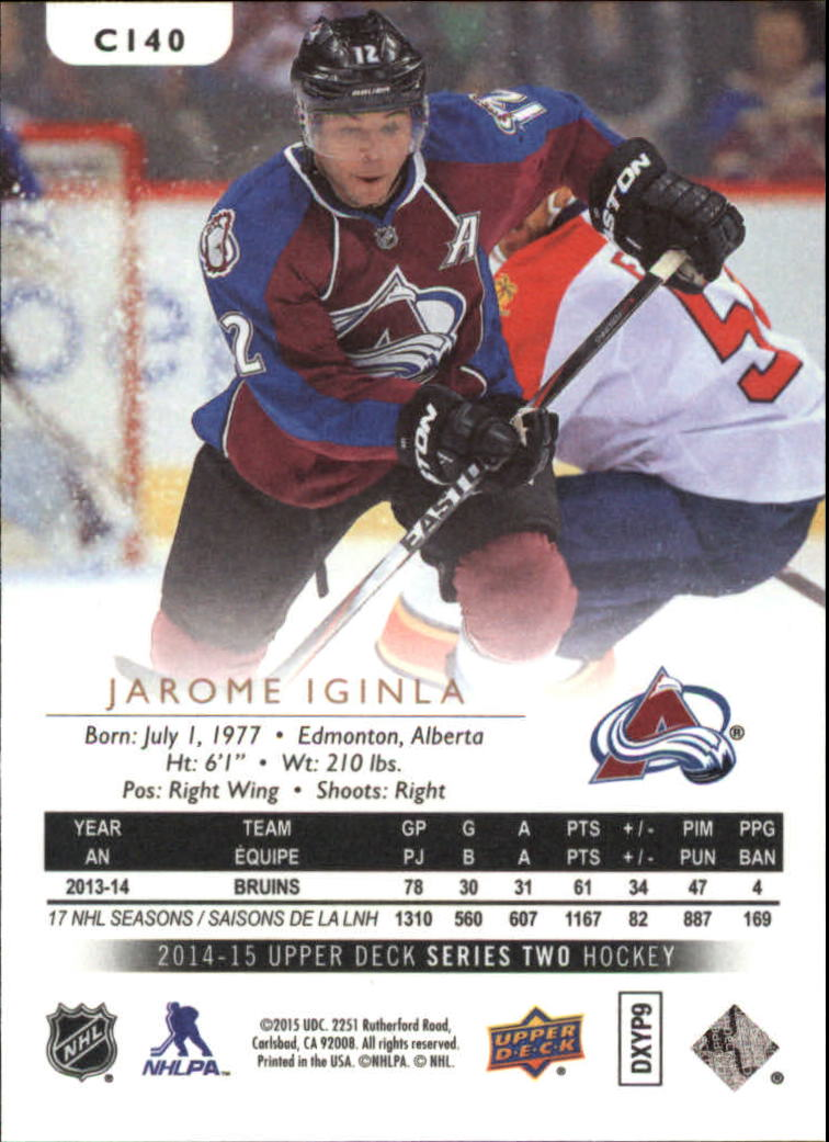 2014-15-Upper-Deck-Hockey-Canvas-Inserts-You-Pick-Buy-10-cards-FREE-SHIP thumbnail 84