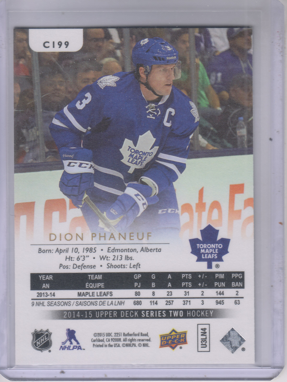 2014-15-Upper-Deck-Hockey-Canvas-Inserts-You-Pick-Buy-10-cards-FREE-SHIP thumbnail 119