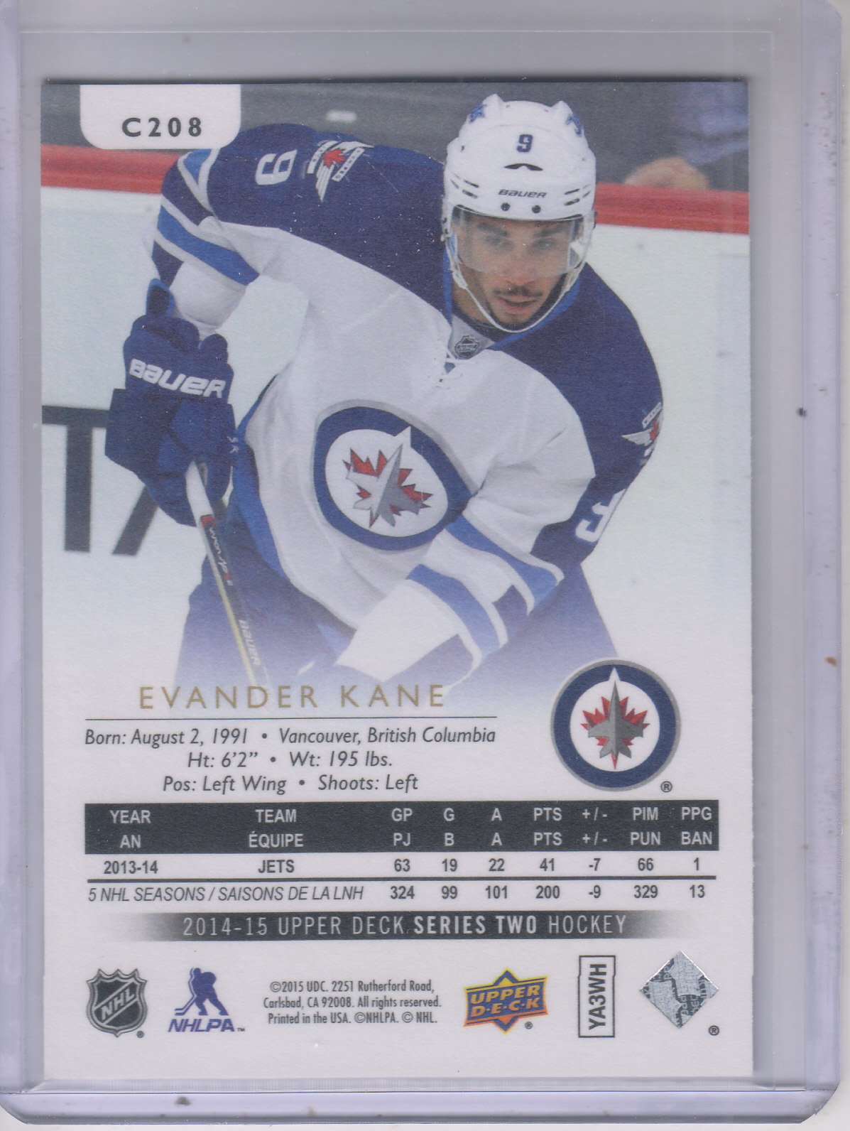 2014-15-Upper-Deck-Hockey-Canvas-Inserts-You-Pick-Buy-10-cards-FREE-SHIP thumbnail 124