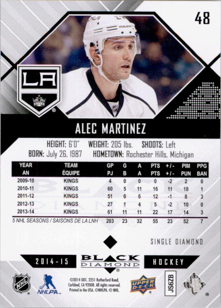 2014-15-Black-Diamond-Hockey-Card-Pick thumbnail 67