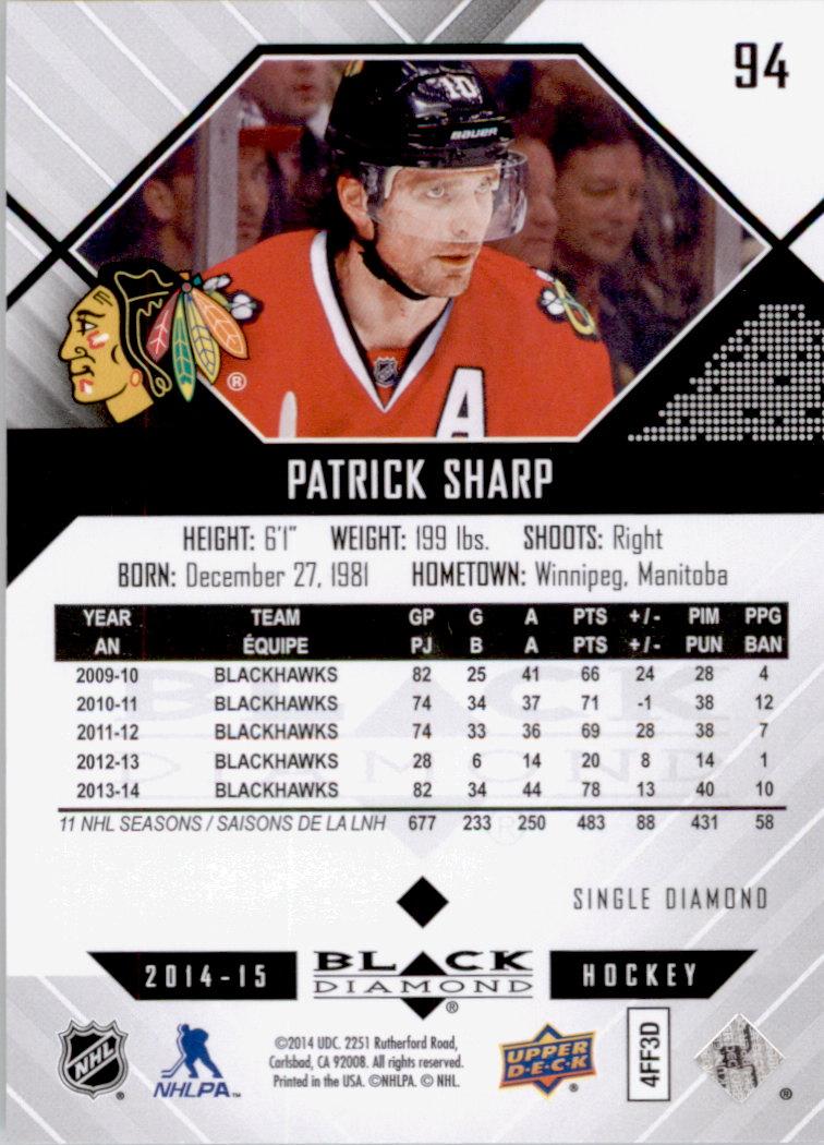 2014-15-Black-Diamond-Hockey-Card-Pick thumbnail 115