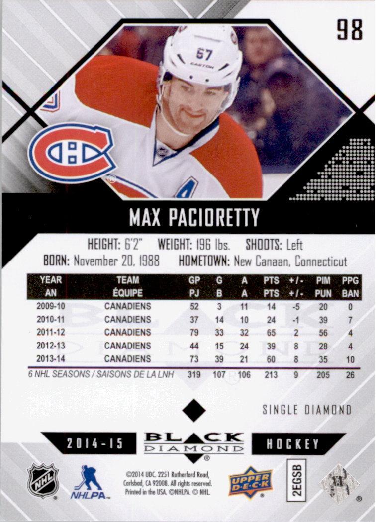 2014-15-Black-Diamond-Hockey-Card-Pick thumbnail 119