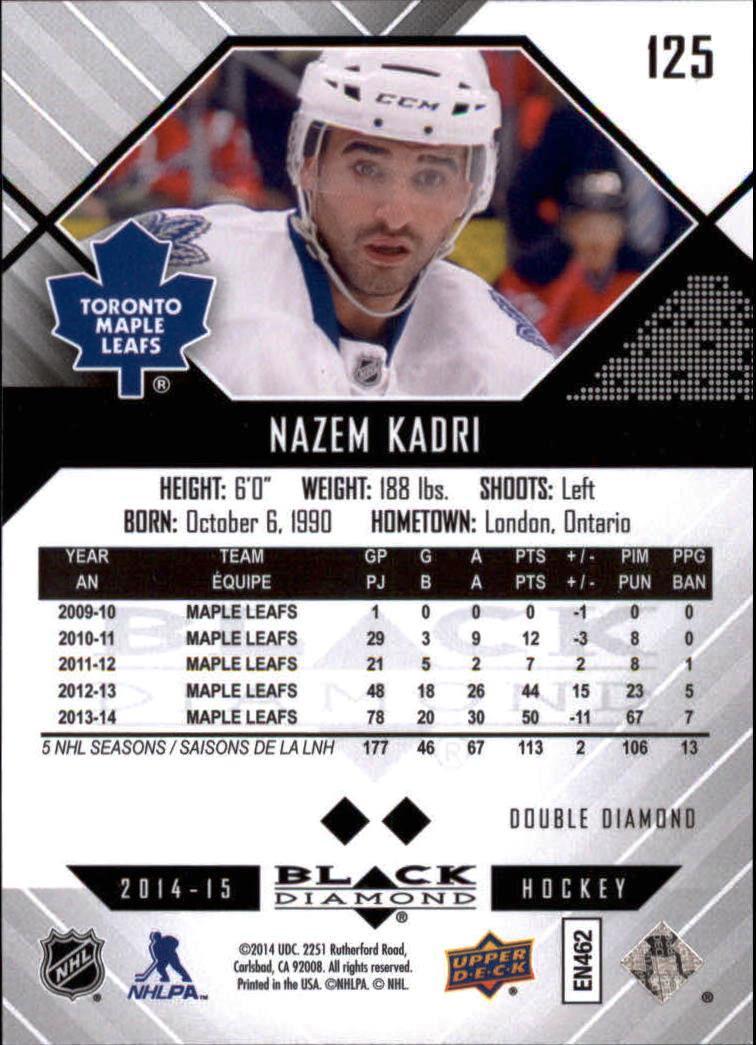 2014-15-Black-Diamond-Hockey-Card-Pick thumbnail 137