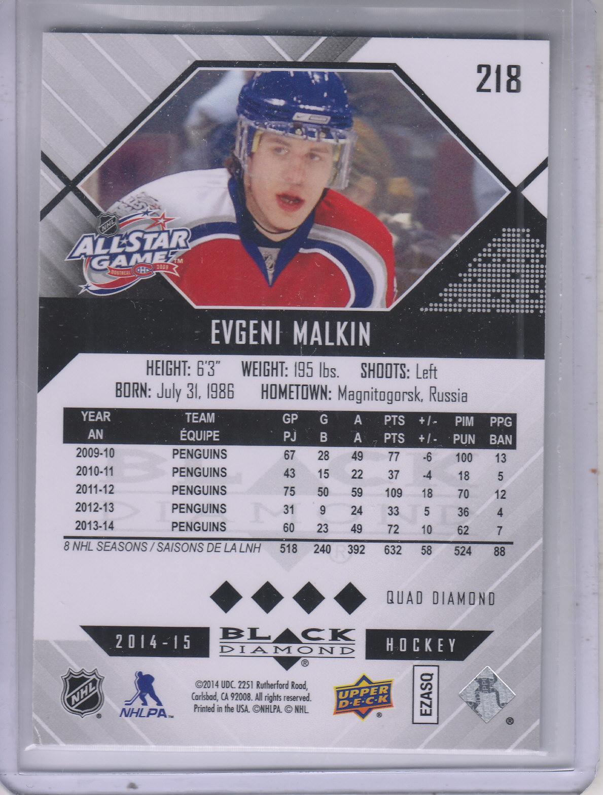 2014-15-Black-Diamond-Hockey-Card-Pick thumbnail 182