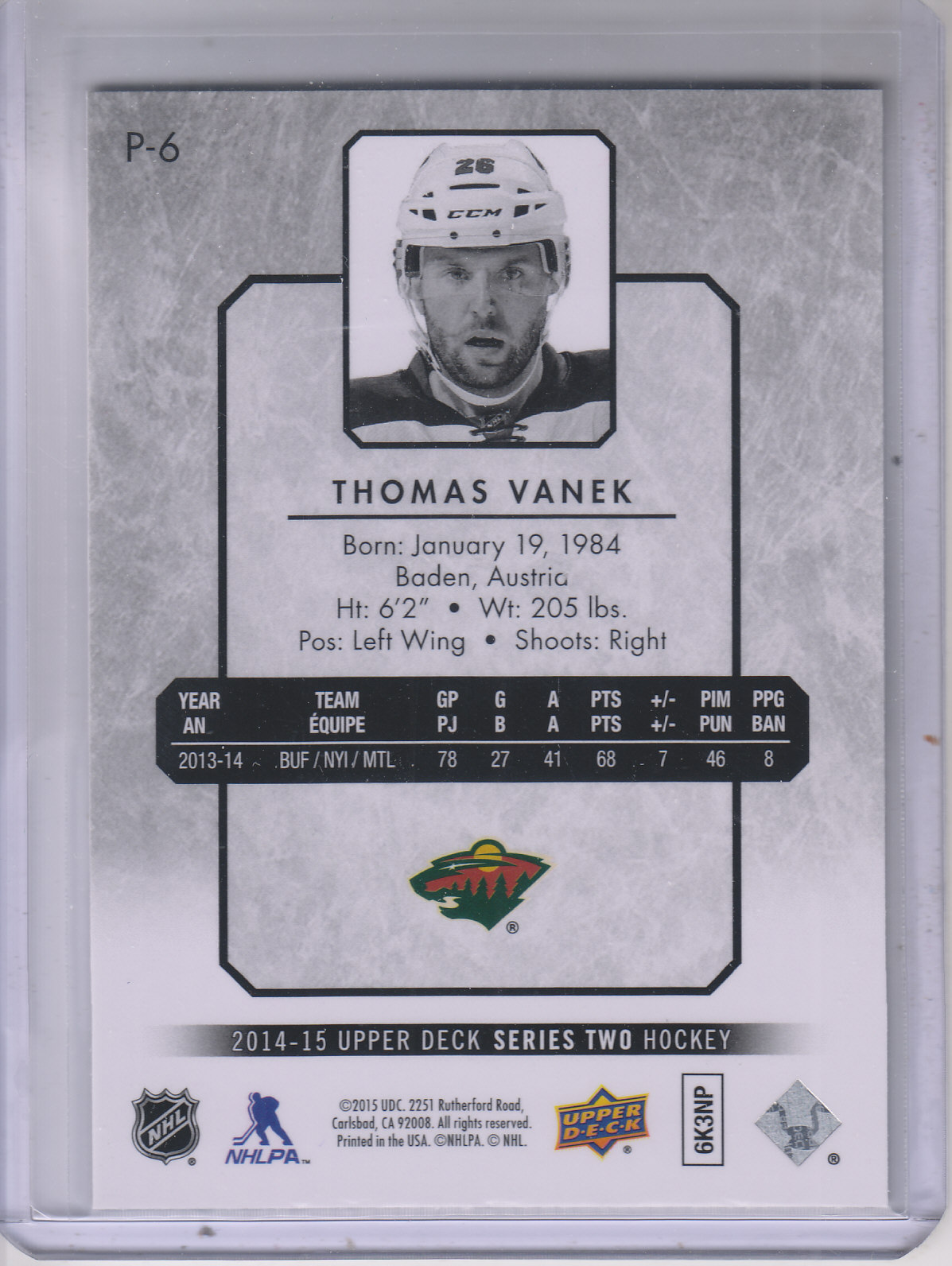 2014-15-Upper-Deck-Hockey-Canvas-Inserts-You-Pick-Buy-10-cards-FREE-SHIP thumbnail 199