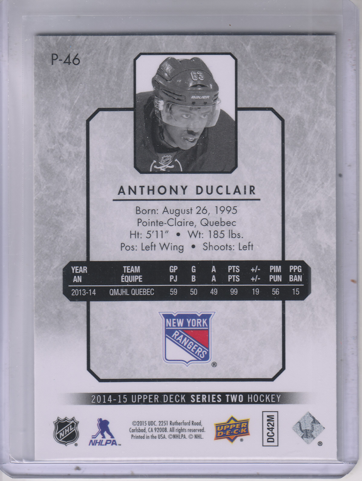 2014-15-Upper-Deck-Hockey-Canvas-Inserts-You-Pick-Buy-10-cards-FREE-SHIP thumbnail 227