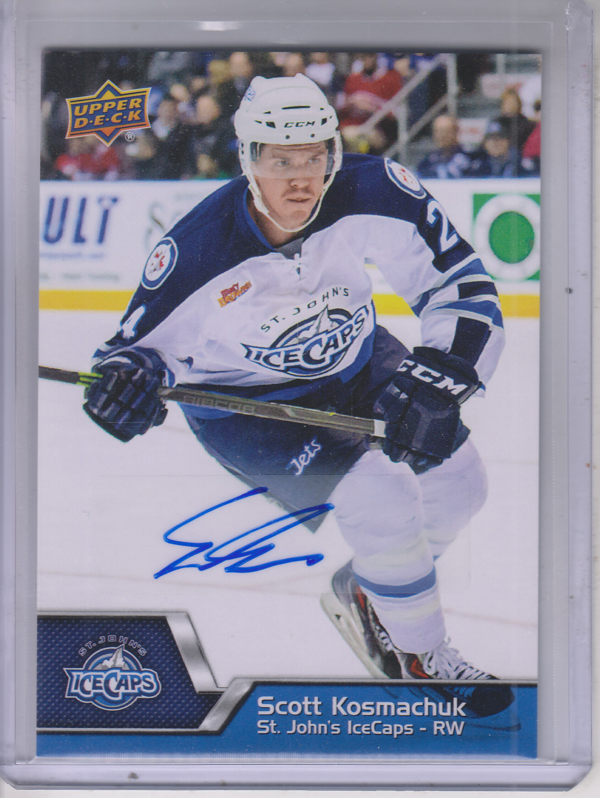 2014-15 Upper Deck AHL Autographs #130 Scott Kosmachuk