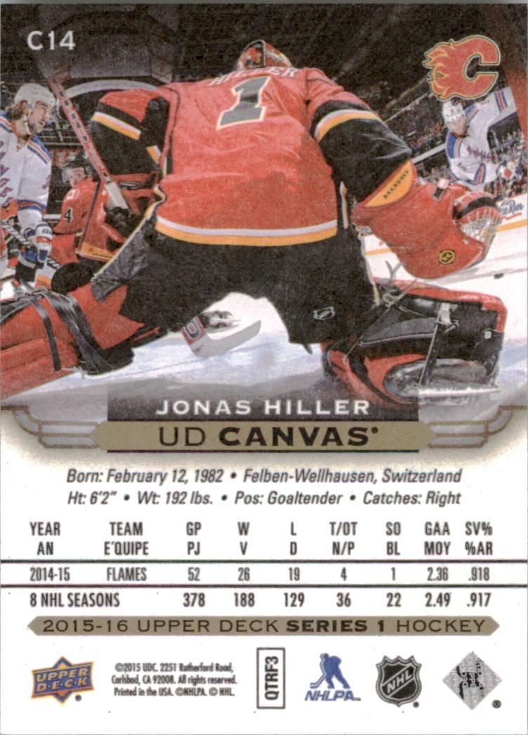 2015-16-Upper-Deck-Canvas-Hockey-Card-Pick miniature 21