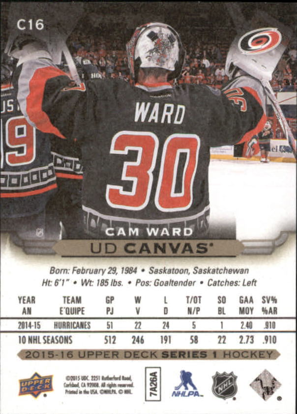 2015-16-Upper-Deck-Canvas-Hockey-Card-Pick miniature 25