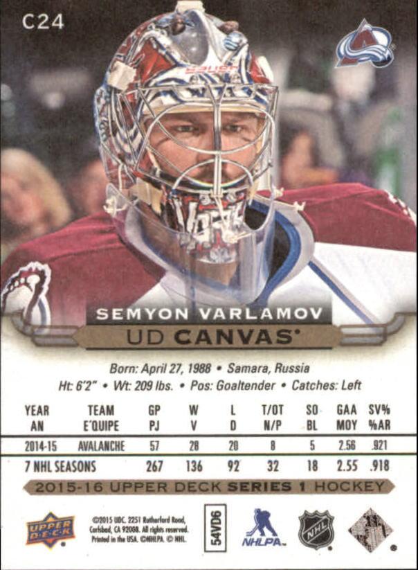 2015-16-Upper-Deck-Canvas-Hockey-Card-Pick miniature 35