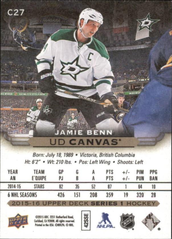 2015-16-Upper-Deck-Canvas-Hockey-Card-Pick miniature 40