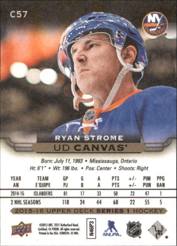 2015-16-Upper-Deck-Canvas-Hockey-Card-Pick miniature 84