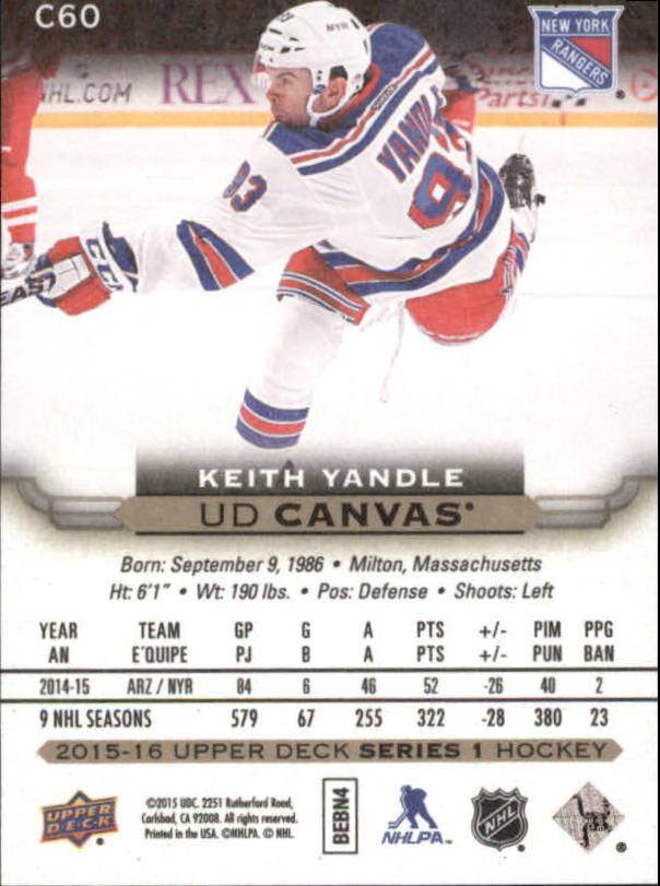 2015-16-Upper-Deck-Canvas-Hockey-Card-Pick miniature 90