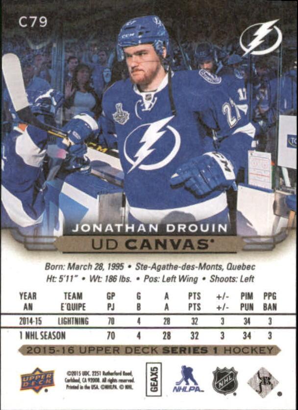 2015-16-Upper-Deck-Canvas-Hockey-Card-Pick miniature 120