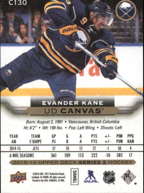 2015-16-Upper-Deck-Canvas-Hockey-Card-Pick miniature 145