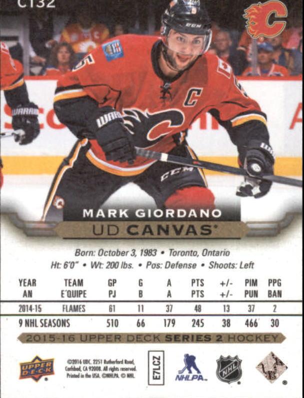 2015-16-Upper-Deck-Canvas-Hockey-Card-Pick miniature 149