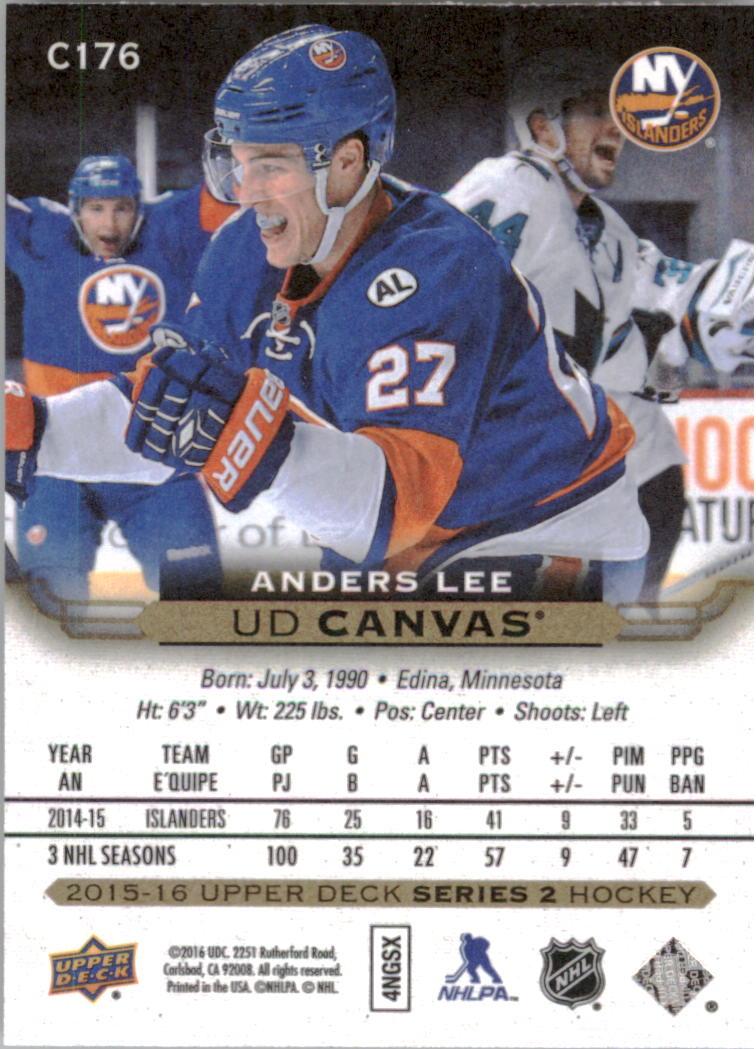 2015-16-Upper-Deck-Canvas-Hockey-Card-Pick miniature 189