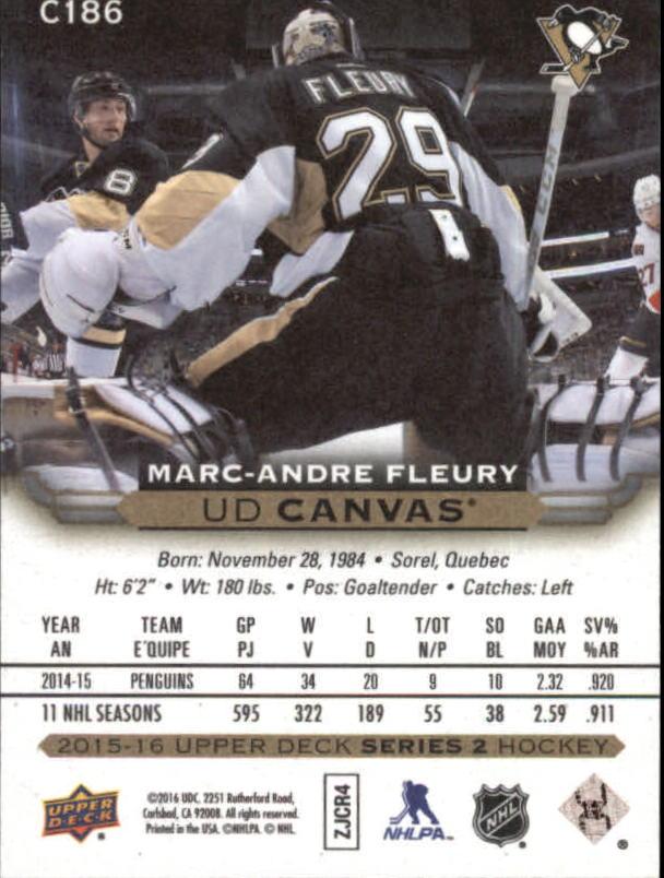 2015-16-Upper-Deck-Canvas-Hockey-Card-Pick miniature 199