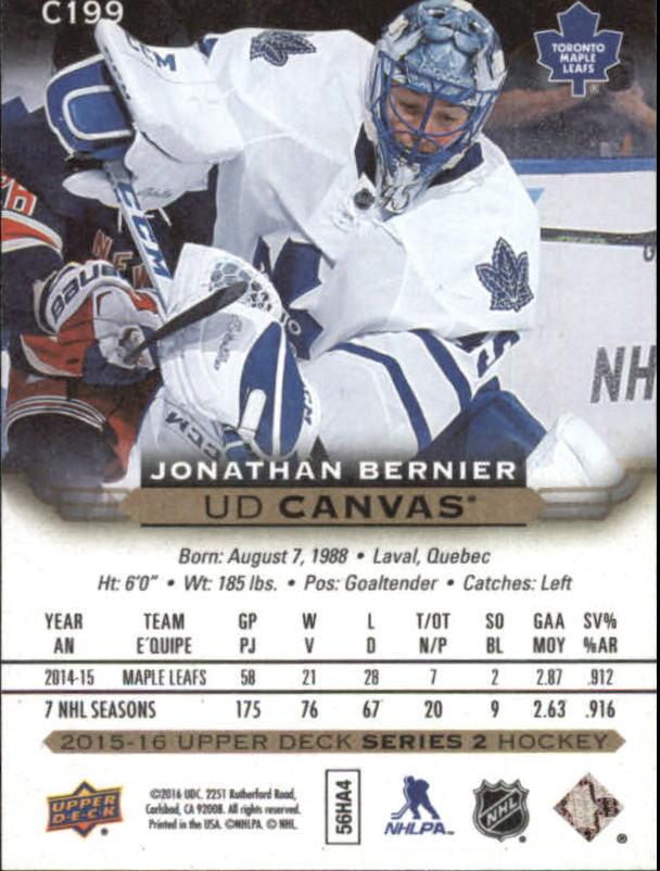 2015-16-Upper-Deck-Canvas-Hockey-Card-Pick miniature 209