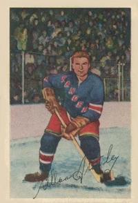 1952-53 Parkhurst #21 Allan Stanley