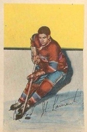 1952-53 Parkhurst #52 Dollard St.Laurent RC