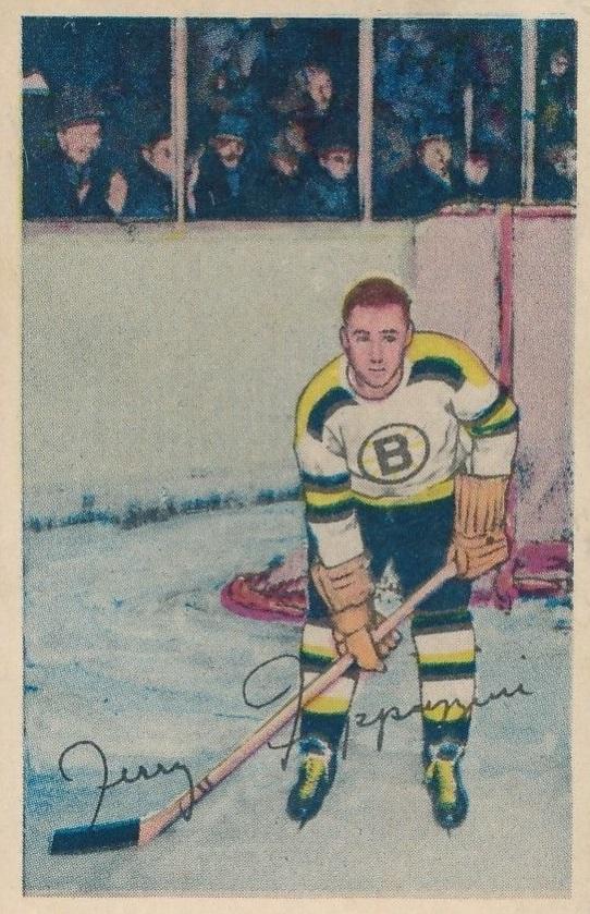 1952-53 Parkhurst #73 Zellio Toppazzini RC