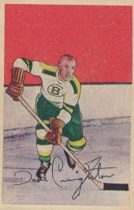 1952-53 Parkhurst #76 Dave Creighton RC