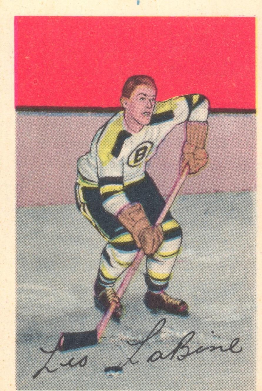 1952-53 Parkhurst #81 Leo Labine RC