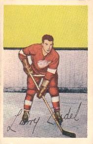 1952-53 Parkhurst #91 Larry Zeidel RC