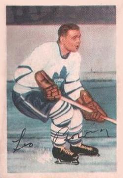 1953-54 Parkhurst #6 Leo Boivin