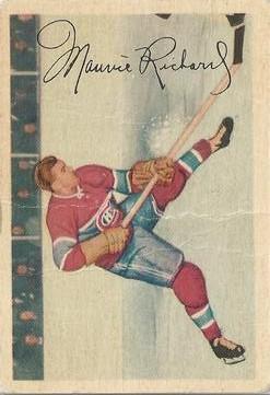 1953-54 Parkhurst #24 Maurice Richard
