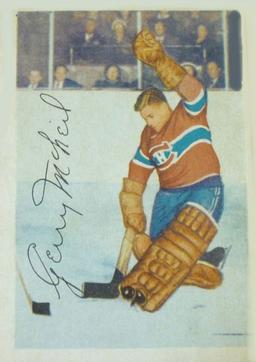 1953-54 Parkhurst #25 Gerry McNeil