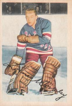 1953-54 Parkhurst #53 Gump Worsley RC