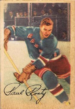 1953-54 Parkhurst #63 Paul Ronty