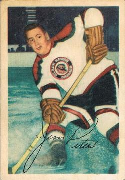 1953-54 Parkhurst #69 Jim Peters
