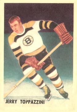 1953-54 Parkhurst #98 Jerry Toppazzini RC