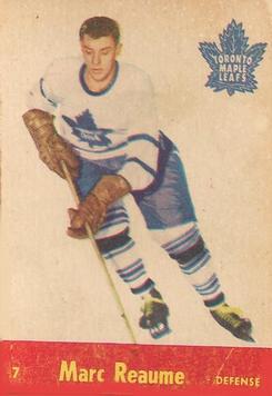 1955-56 Parkhurst #7 Marc Reaume RC