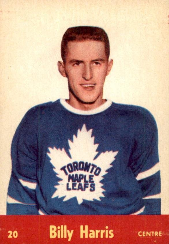 1955-56 Parkhurst #20 Billy Harris RC