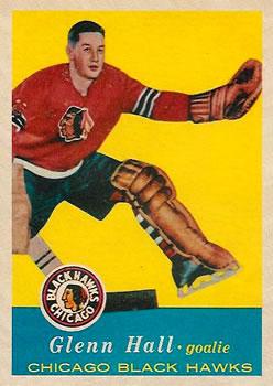 1957-58 Topps #20 Glenn Hall RC