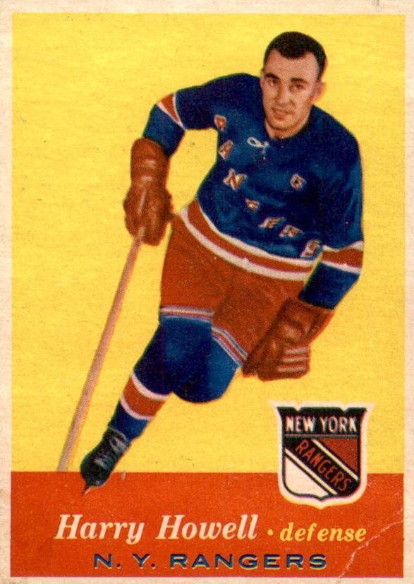 1957-58 Topps #51 Harry Howell
