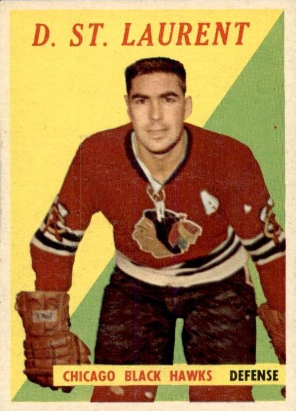 1958-59 Topps #5 Dollard St.Laurent