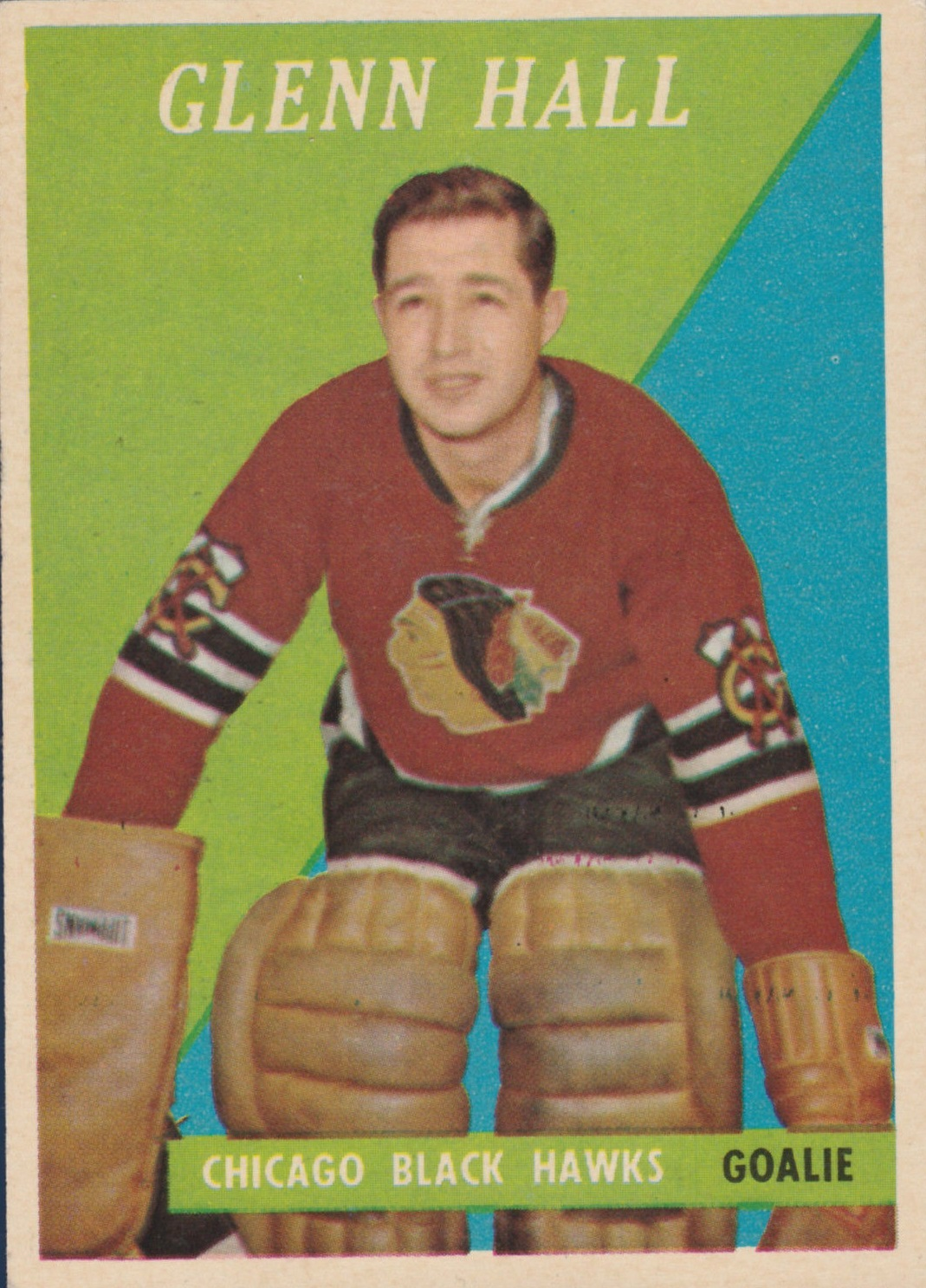 1958-59 Topps #13 Glenn Hall