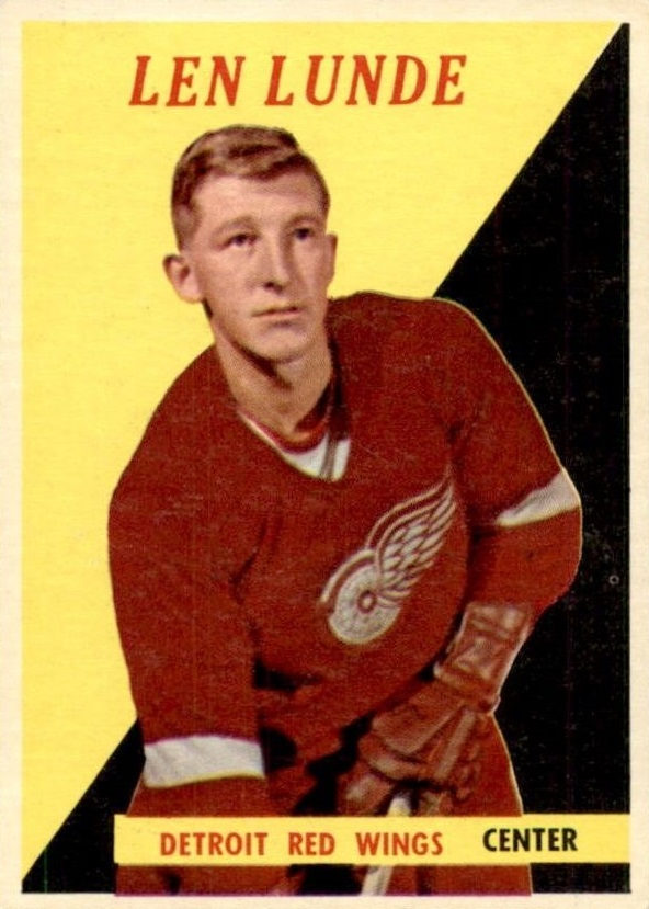1958-59 Topps #15 Len Lunde RC