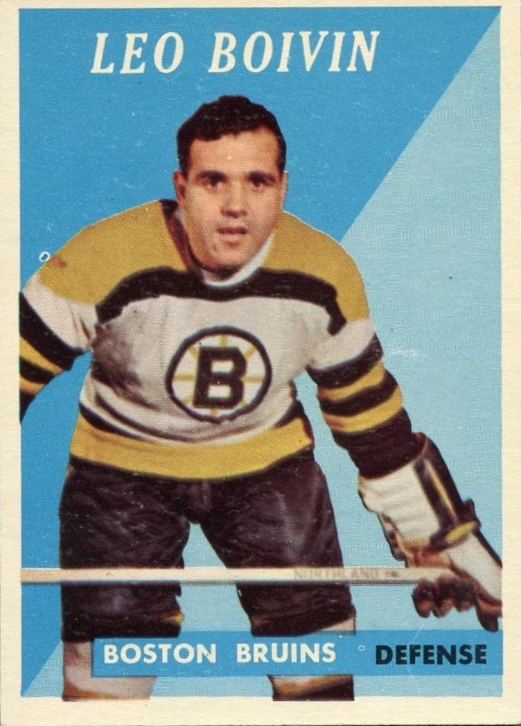 1958-59 Topps #20 Leo Boivin