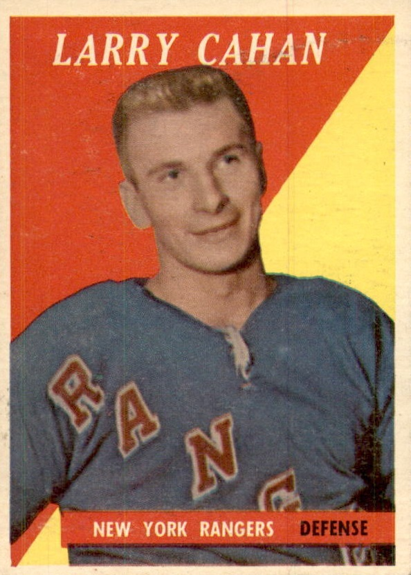 1958-59 Topps #23 Larry Cahan