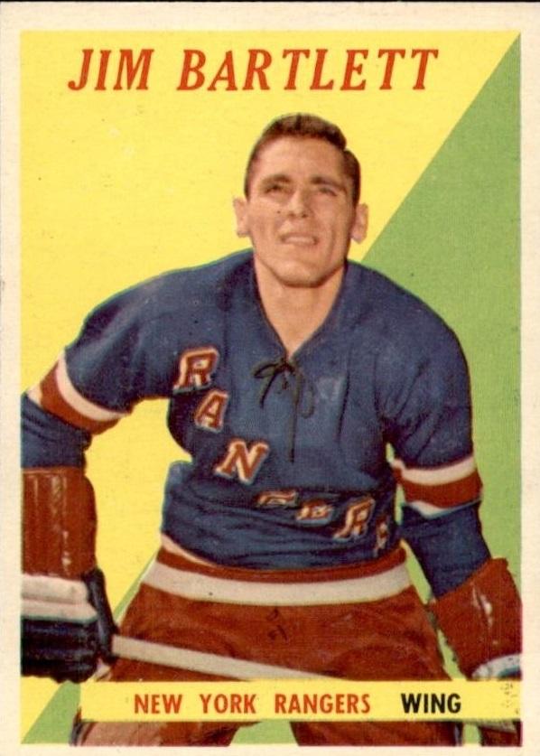 1958-59 Topps #26 Jim Bartlett RC